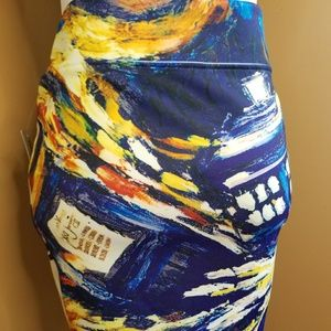 Doctor Who Skirt NWT Size S/M